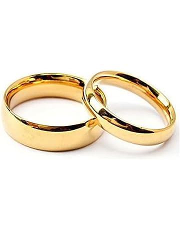 venta minorista a3428 c948a Amazon.es: Anillos de boda y compromiso: Joyería: Boda ...