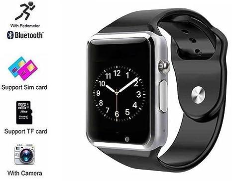 2017 nueva Teac Bluetooth reloj inteligente con ranura para tarjeta SIM para Android y iOS BT