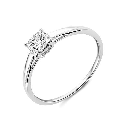 bague diamant 0.2 carat