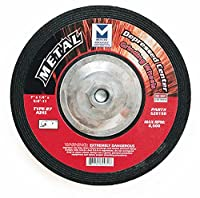 Mercer Abrasives 620140-20 Type 27 Depressed Center Grinding Wheels 7-Inch by 1/4-Inch by 7/8-Inch, 20-Pack