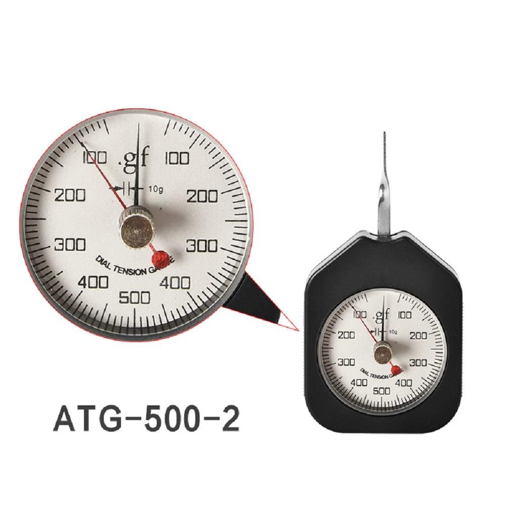 MXBAOHENG New ATG-500G Gram Gauge Tension Meter Dial Push Pull Tester Tensiometer