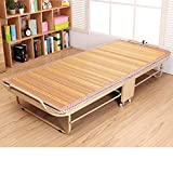 Folding Bed/Individual,Office,Nap Rollaway Bed/Adult Bed/Simple Bed/Dormitory Bed/Iron Frame Rollaway Bed/Siesta Cot-B
