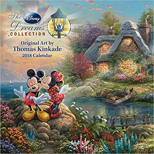 Thomas Kinkade: The Disney Dreams Collection Calendar