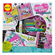 ALEX Toys - Friends 4 Ever Scrapbook Kit with 48-Page Hardcover Book, 106BF