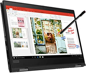 "Lenovo 13.3"" ThinkPad X390 Yoga Multi-Touch 2-in-1 Laptop - 1.9 GHz Intel Core i7-8665U Quad-Core - 256GB SSD - 8GB - Win10 pro - Lenovo 4G-LTE"