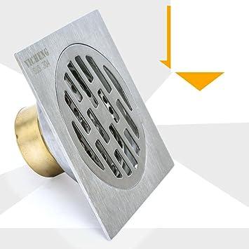 desagüe del baño piso/Desodorante desagüe de la bañera/304drenaje ...