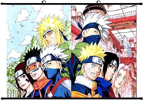 """Naruto Kakashi Sasuke Anime Gift 24/"""" x 16/"""" Large Wall Poster Art Print Decor"""