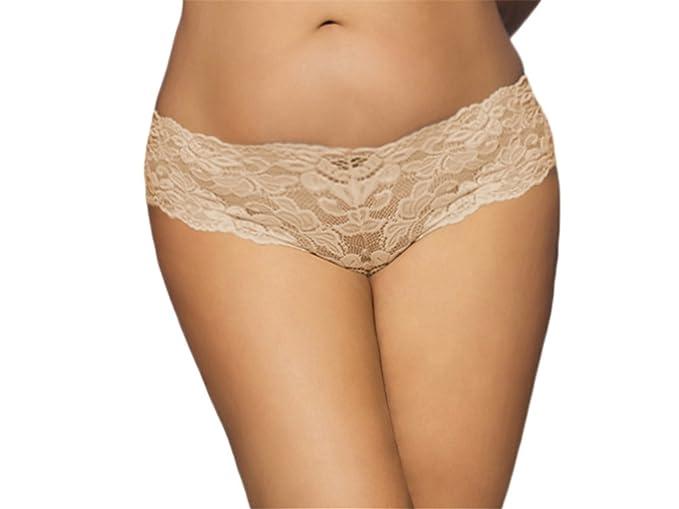 474dd54d805 YouYaYZAI Women (M-6XL) Panties Lace Underwear Mesh Bikinis