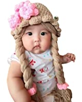 Disney Princess Anna Elsa knit Baby Girl hat