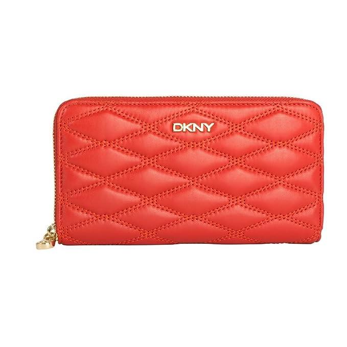 DKNY - Cartera para mujer Naranja naranja One Size: Amazon ...