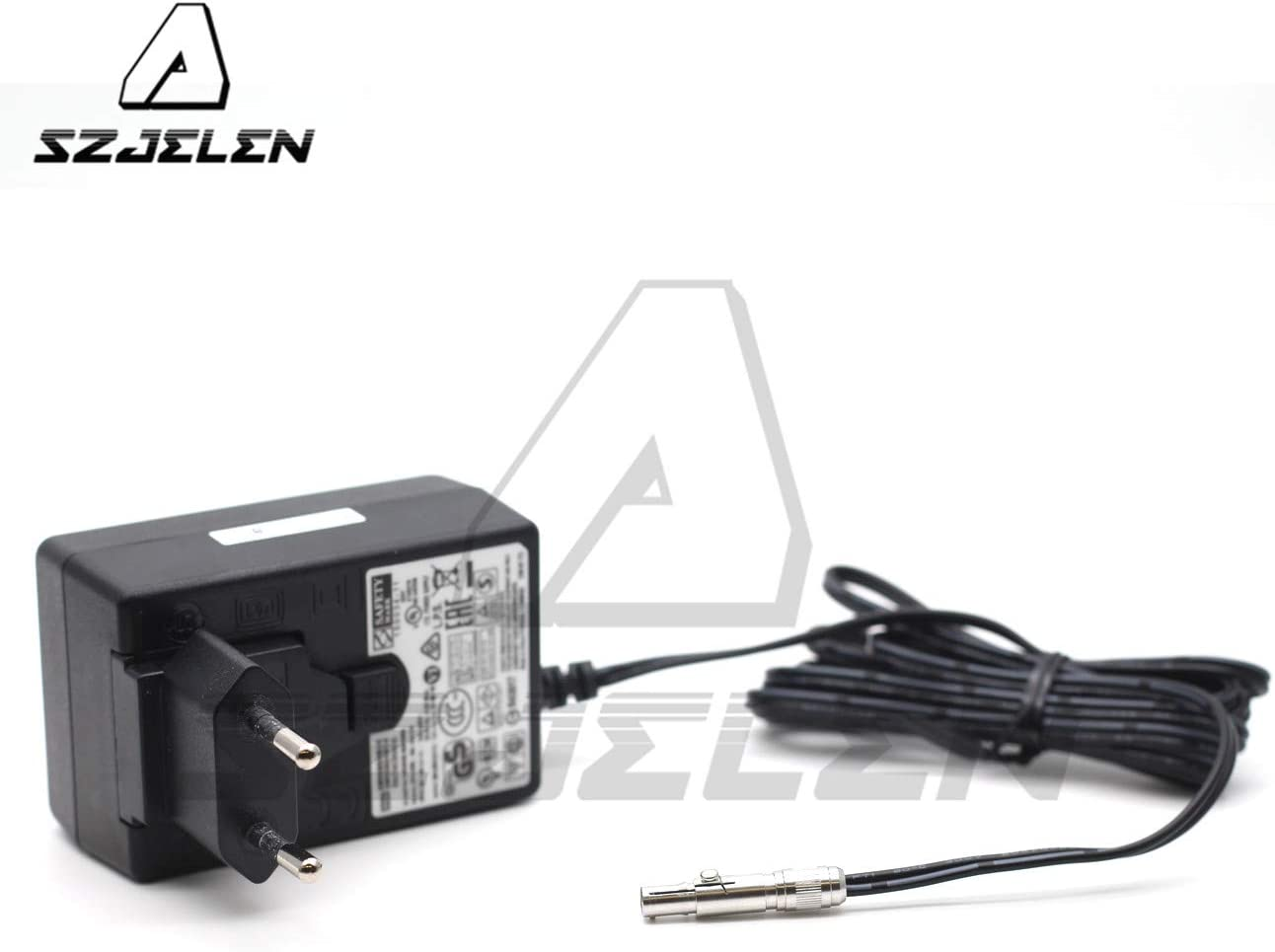 SZJELEN Neutrik 3 pin to Universal AC Power Adapter Cable with US UK EU Plugs for Odyssey 7Q Monitor Power Cable