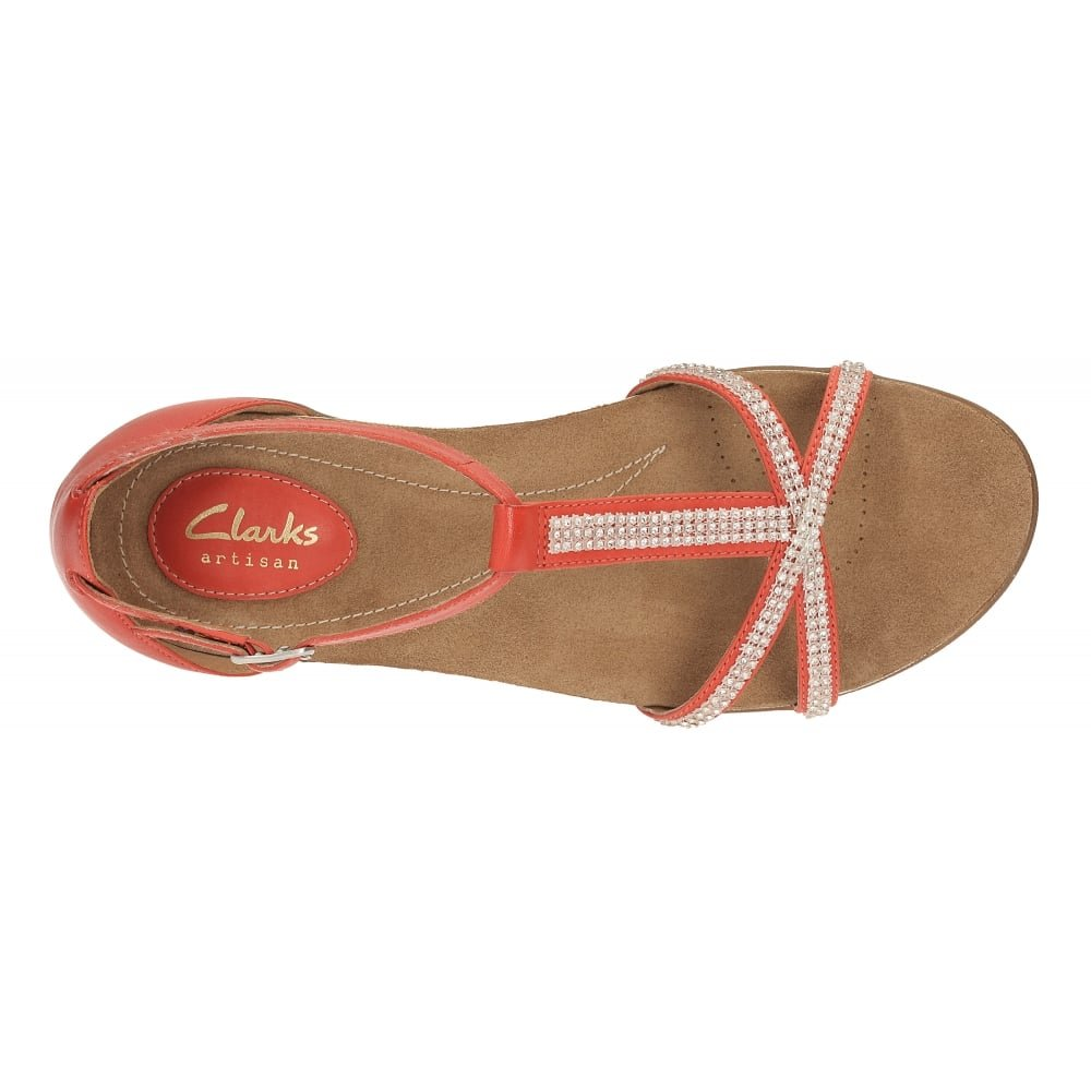 Awesome shoes Clarks Womens Raffi Star Grenadine Leather