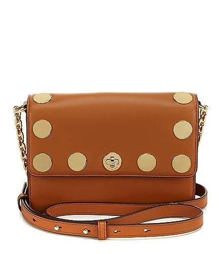 c61d8816ec56 MICHAEL Michael Kors Rivington Stud Natalie Small Chain Cross-Body Bag