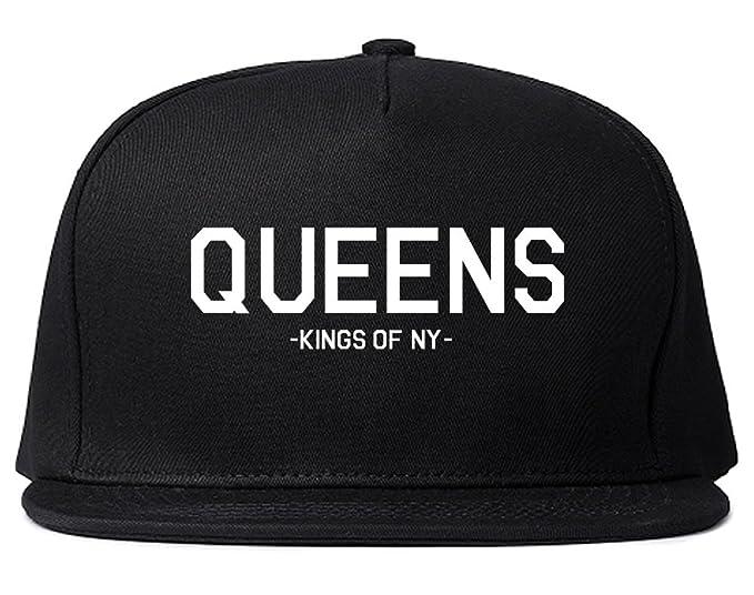 Kings Of NY Queens LI New York Snapback Hat Black at Amazon Men s ... 64ade96b535