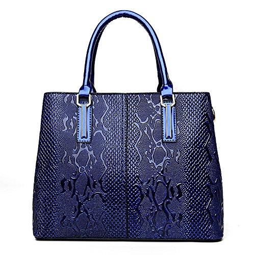 Di Tracolla Donna Grande A Moda Capacità Coreana Da Borsa Messenger Blue ZqwY1x04