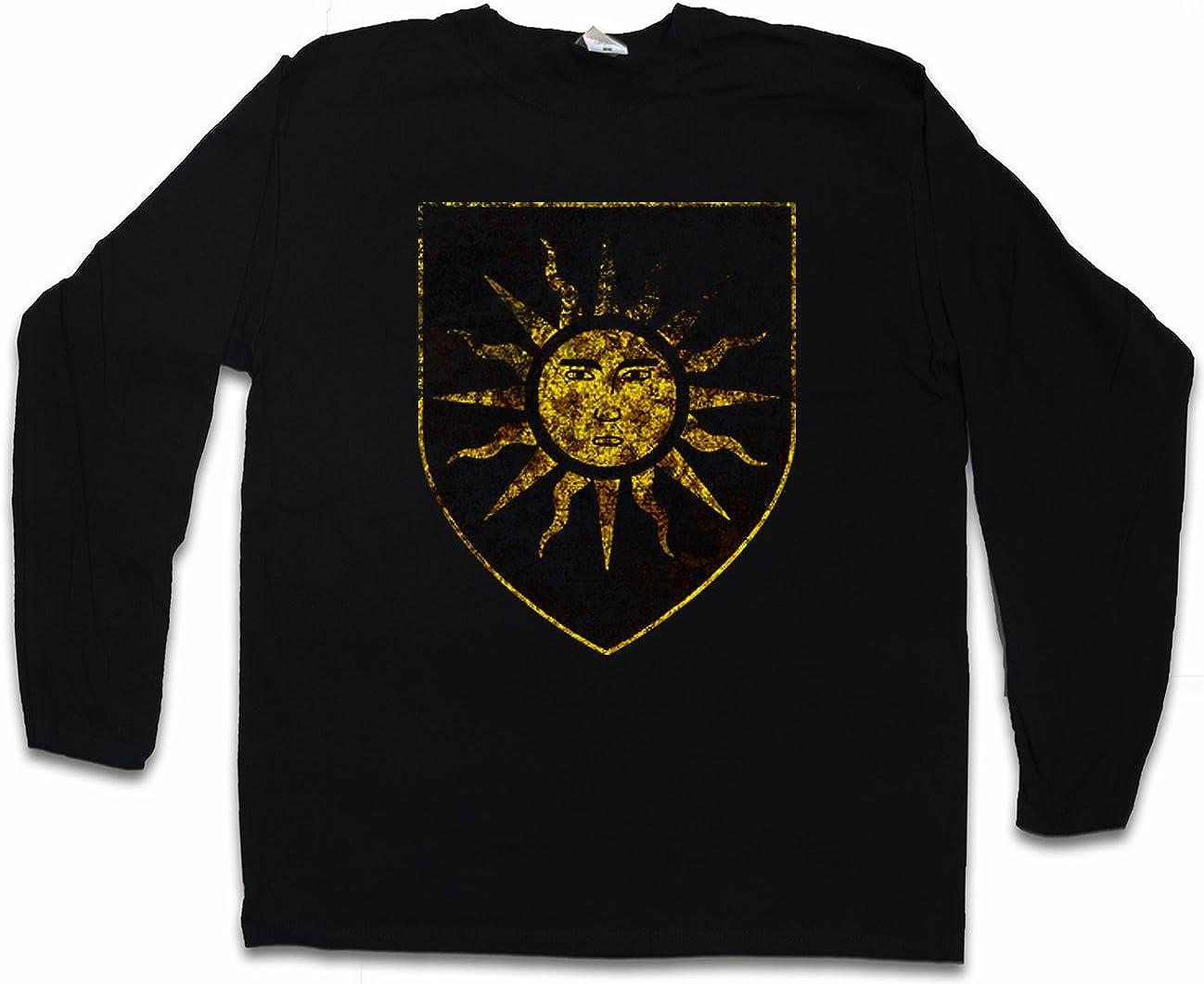 SUN T-SHIRT Sonne Nilfgaard Nilfgaardian Logo Empire Insignia Emperor
