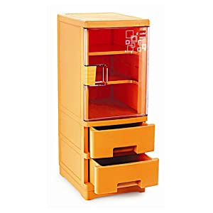 Cello Imperial 1 Drawer Storage Cabinet Mango