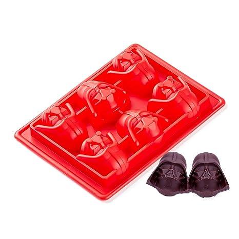 Molde de Silicona, ZPTONE 3d Moldes de Hielo sin BPA para Cubo de Hielo Chocolate