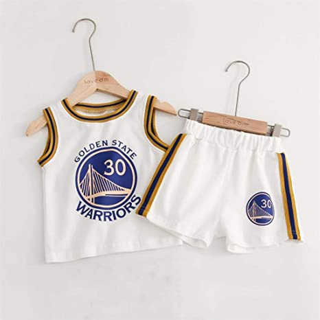 HANGESS Juego De Camiseta Deportiva para Niños - Golden State ...