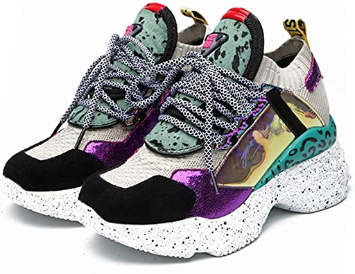 Zapatillas de Deporte de Mujer Plataforma Chunky Shoes ...