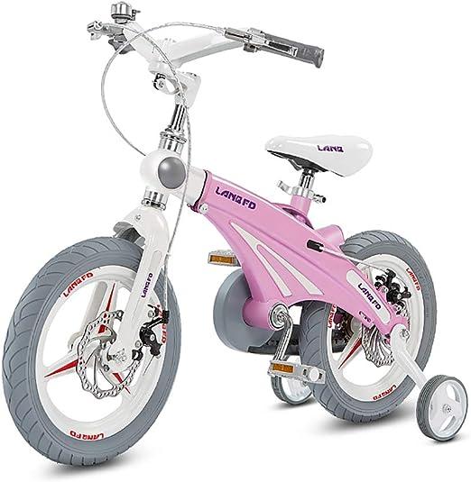 CCFCF 14/12/16 Inch Bicicleta para Niñas con Ruedas De ...