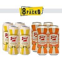 8 Pack Cervezas Austriacas Stiegl Radler 500 ml