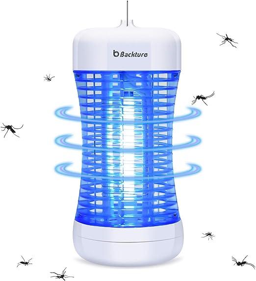 BACKTURE Lámpara de Mosquitos Electrónico, Lámpara Antimosquitos ...