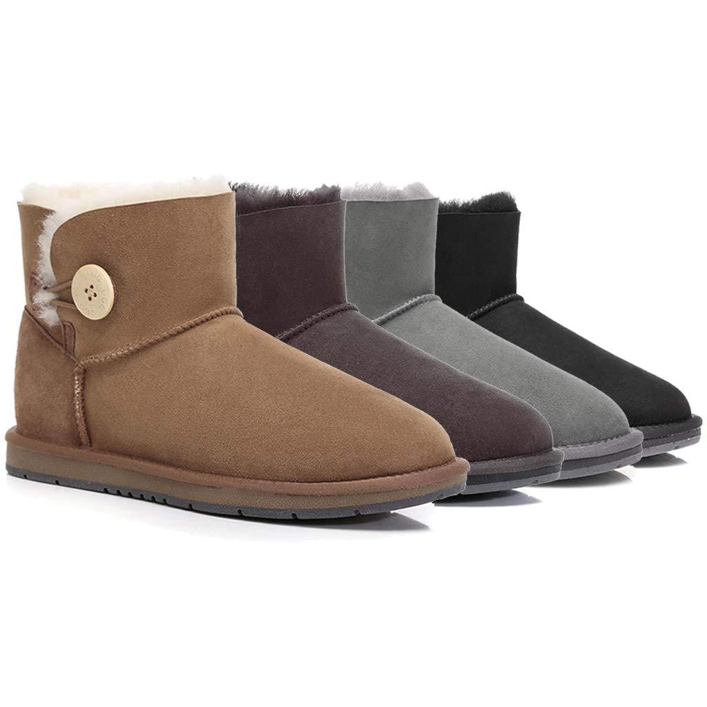 0274fd41f84 UGG Boots Mini Button - Premium Australian Sheepskin, Water ...