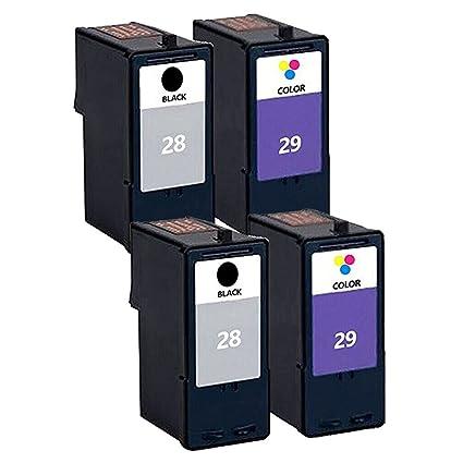 Teng® - Cartuchos de Tinta para Impresora Lexmark 28 29 Lexmark ...