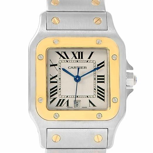 Cartier Santos Galbee Reloj de Cuarzo para Hombre W20011C4 (Certificado de autenticidad)