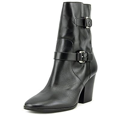 a7cca4f681ef Michael Michael Kors Women's Ashton Mid Bootie Black Vachetta Boot 8.5 M