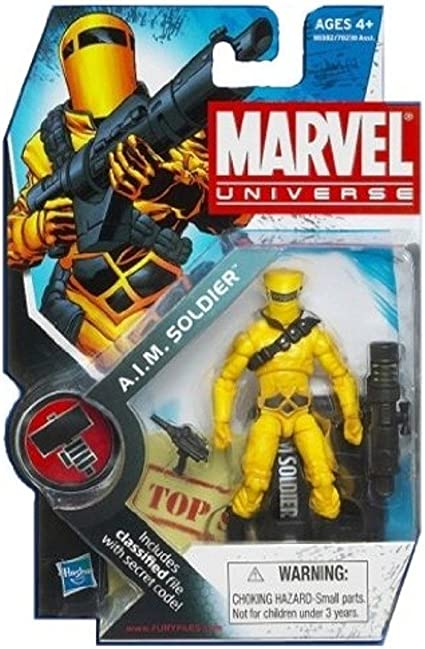 MARVEL UNIVERSE A.I.M SOLDIER LOOSE COMPLETE