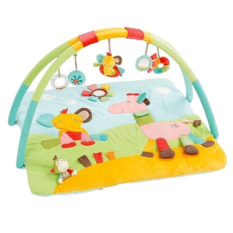 Babysun 80834022 Safari Tapis D Activites Multicolore Amazon Fr