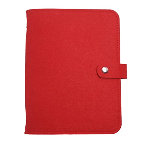A5 Planner Binder A5 Planner Cover -Harphia (Red, A5 9 x 6.69)