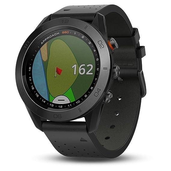 Garmin - Approach S60 Premium - Montre GPS de golf - Noire: Amazon.fr: Sports et Loisirs