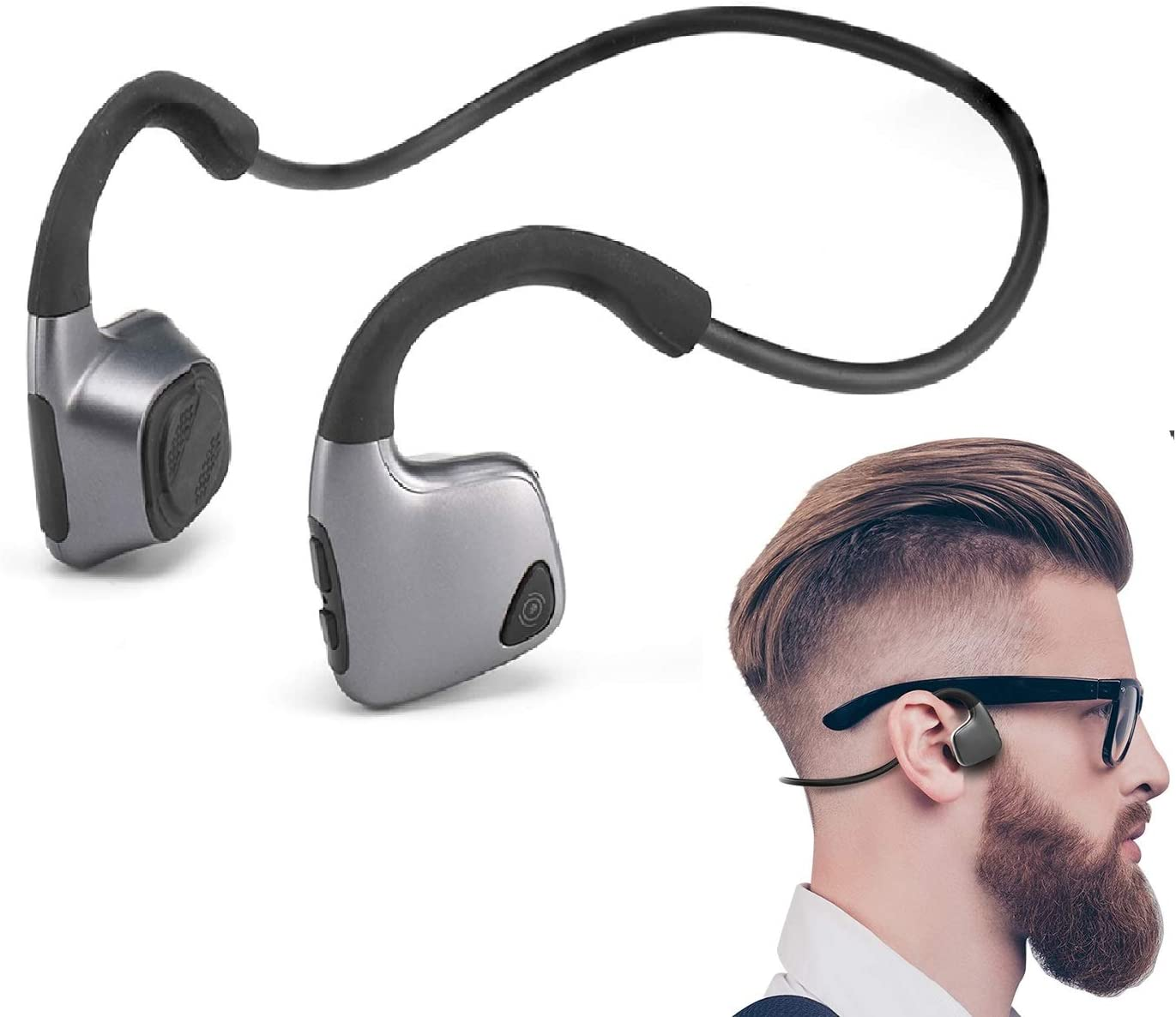 Auriculares Conduccion Osea Bluetooth Deportivoshttps://amzn.to/2IsTmCN