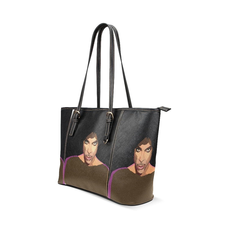 Prince Custom PU Leather Large Tote Bag/Handbag/Shoulder Bag for Fashion Women /Girls