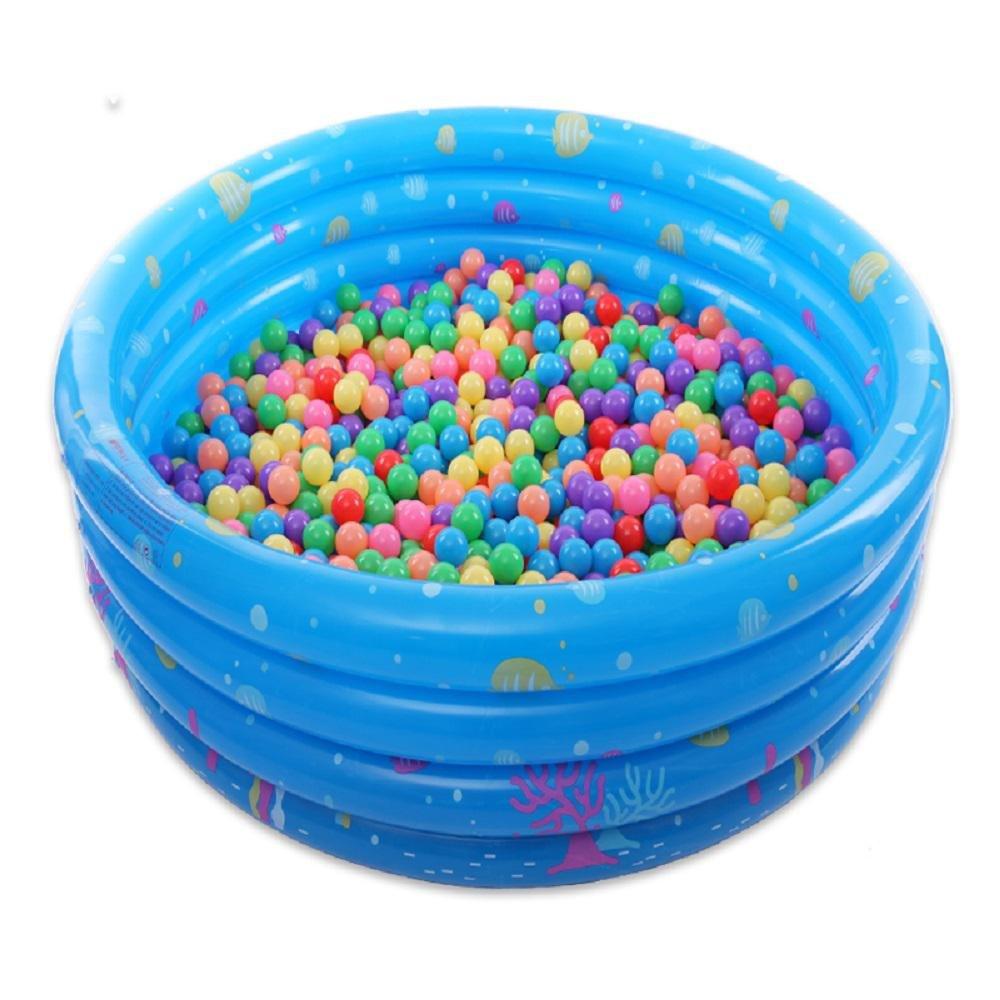 Kinderspielzeug Marine Ball Pool aufblasbare PVC-Kind Schwimmbad Cartoon Kinderplanschbecken Badewanne , blue , 150cm