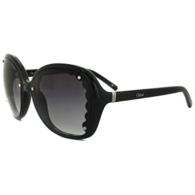 Amazon.com: Chloe anteojos de sol CE 653s 001 negro negro ...