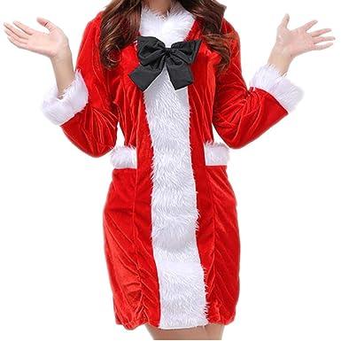 Amazon.com: Disfraz de Navidad para mujer, disfraz de ...