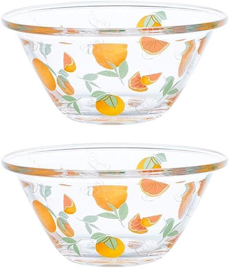 Cabilock Crystal Serving Bowl Centerpiece Dish Glass Mixing Serving Bowl Popcorn Bowl Salad Bowl Chip and Dip Serving Bowls Fruit Server Grey