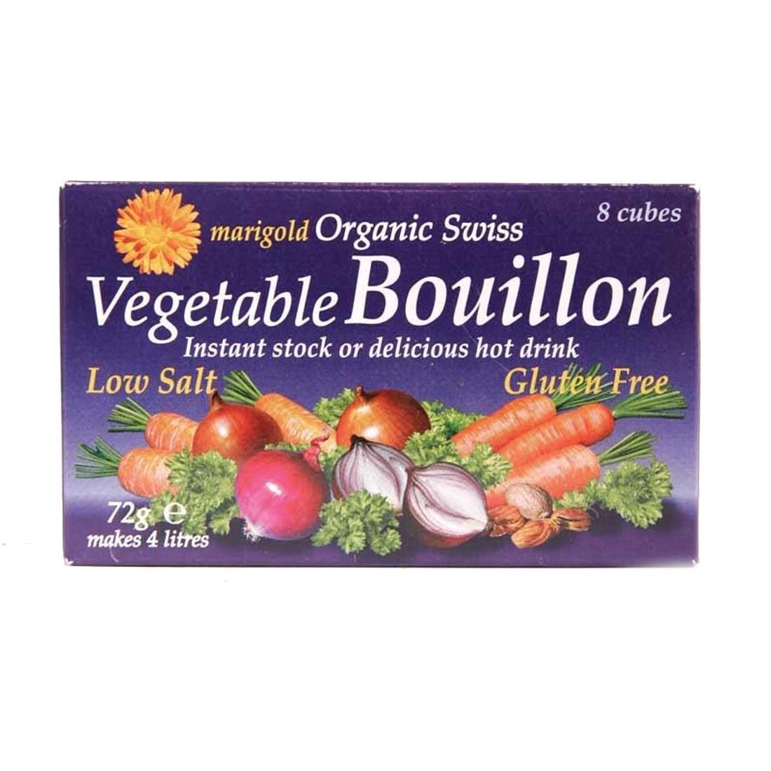 Marior   Faible Salt Bouillon Cubes   2 x 12 x 8