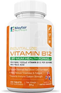 Vitamina B12 Vegavero® 1000mcg | Apta Para Veganos | Con B6 ...