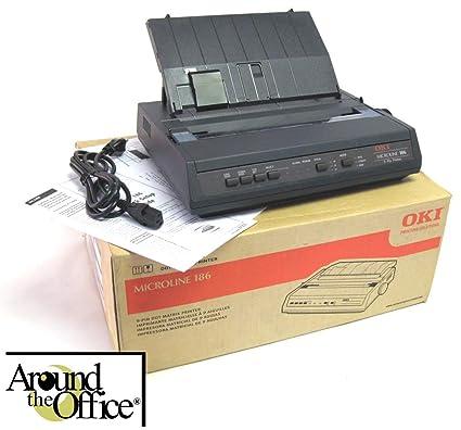 Amazon.com: Okidata ML-186 Impact Printer New in Factory ...