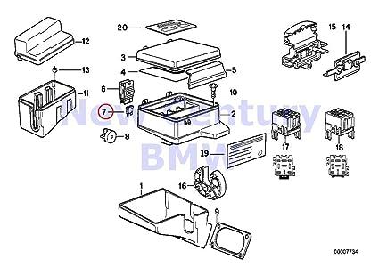BMW auténtica caja de fusibles único Componentes para caja ... on bmw 740il fuse box, bmw 328i fuse box, bmw z3 fuse box, bmw 528i fuse box, bmw 323i fuse box, bmw 325ci fuse box, bmw 530i fuse box, bmw 650i fuse box, bmw 330i fuse box, bmw 325xi fuse box, bmw 750il fuse box, bmw 535i fuse box, bmw 550i fuse box,