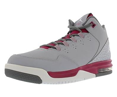bd9c460140e407 Amazon.com  Jordan Nike Kids Flight Origin 2 GG WLF Gry White SPRT FCHS Cl  Gry Basketball Shoe 9 Kids US  Shoes