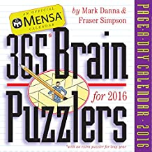Mensa 365 Brain Puzzlers Page-A-Day Calendar 2016