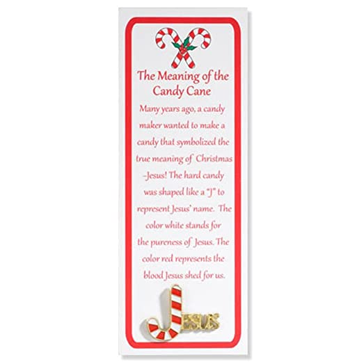 jesus lapel pin the meaning of the candy cane - Hard Candy Christmas Meaning