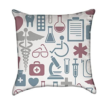 Amazon Medical Health Throw Pillow Cover Home Kitchen Inspiration Medical Pillow Covers
