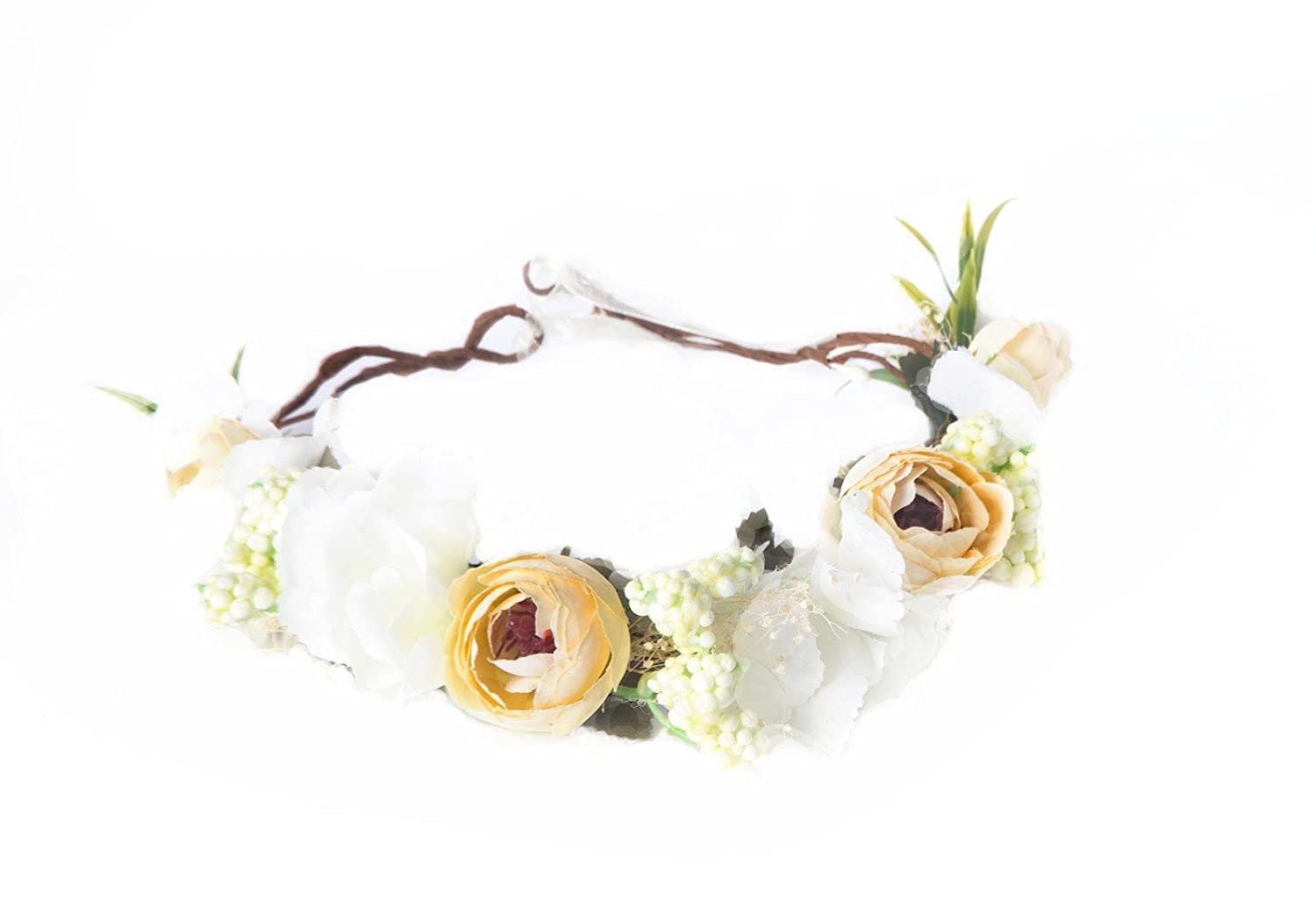 Amazon Montpelle Flower Headband Crown For Women Boho